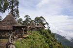 Dorze lodge with fantastic few
