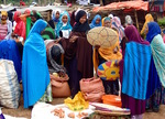 Tradition market in Harar eastern Ethiopia